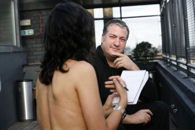 Spencer Tunick Photographs. Spencer Tunick. Photo: